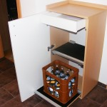 Getränkeschrank - geöffnet